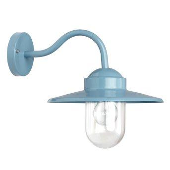 KS Verlichting Dolce Aplique Azul, 1 luz