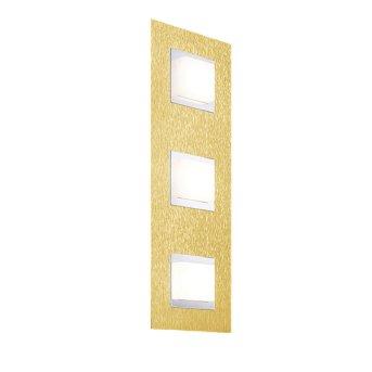 Grossmann BASIC Lámpara de techo o pared LED Latón, 3 luces