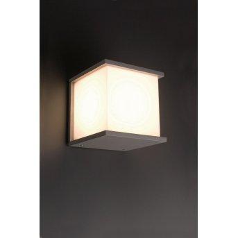 Faro Kubick Aplique para exterior Gris, 1 luz