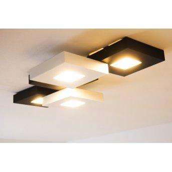 Bopp CUBUS Lámpara de techo LED Negro, Blanca, 5 luces
