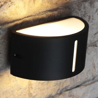Lutec BONN Aplique para exterior Antracita, 1 luz