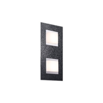 Grossmann BASIC Lámpara de Techo LED Antracita, 2 luces