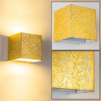 Olbia Aplique LED dorado, 1 luz