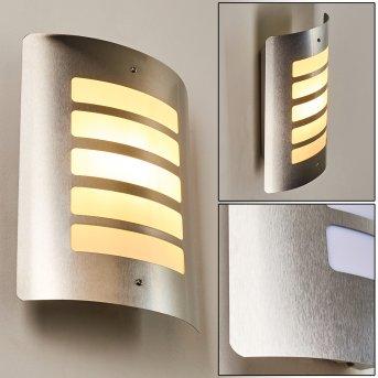 Alslev Aplique para exterior Acero inoxidable, 1 luz