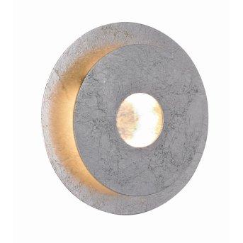 WOFI AFIR Aplique LED Plata, 1 luz