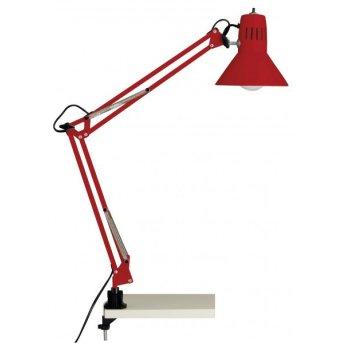 Brilliant Hobby Lámpara de lectura con pinza Rojo, 1 luz