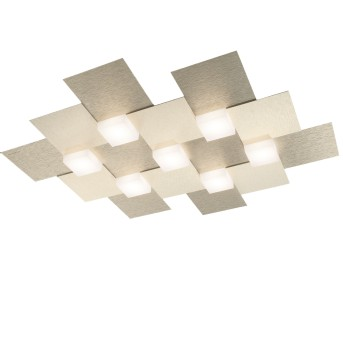 Grossmann Creo Lámpara de Techo LED Color champán, 7 luces