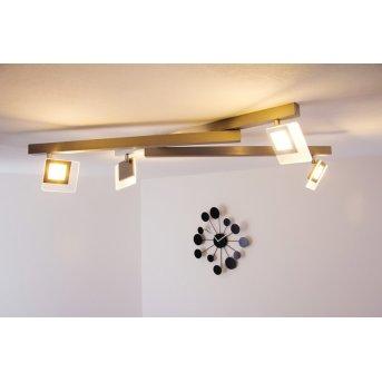 Bopp LINE Lámpara de techo LED Aluminio, 4 luces