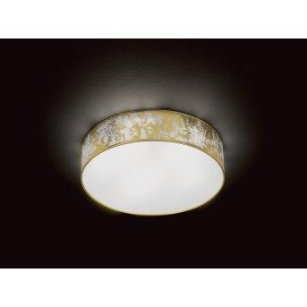 Wofi LEIKA Lámpara de Techo LED dorado, 1 luz