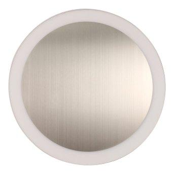 Lutec MOON Aplique Plata, 1 luz