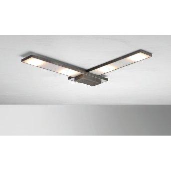 BOPP SLIGHT Lámpara de techo LED Antracita, 4 luces