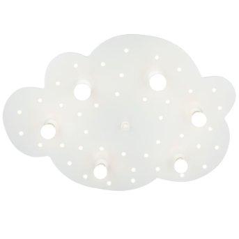 Elobra WOLKE Aplique Blanca, 6 luces