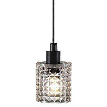 Nordlux HOLLY Lámpara Colgante Transparente, 1 luz