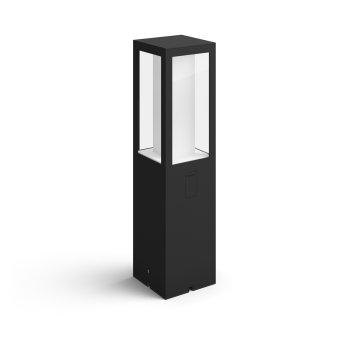 Philips Hue Ambiance White & Color Impress Pedestal, set de extensión LED Negro, 1 luz, Cambia de color