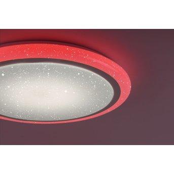 Leuchten Direkt LUISA Lámpara de Techo LED Blanca, 1 luz, Mando a distancia, Cambia de color