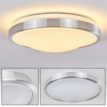 Wutach Lámpara de techo Blanca, 1 luz