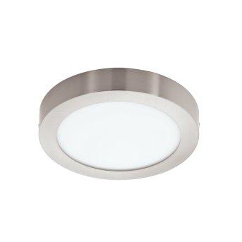 Eglo FUEVA-C Lámpara de Techo LED Níquel-mate, 1 luz, Cambia de color