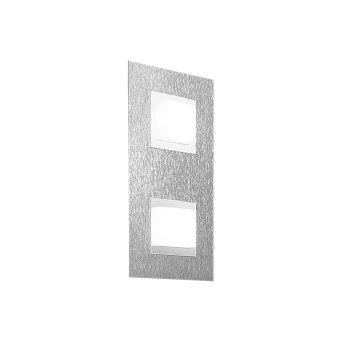 Grossmann BASIC Lámpara de Techo LED Aluminio, 2 luces