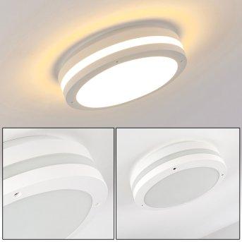 Wollongong Lámpara de techo para exterior LED Blanca, 1 luz