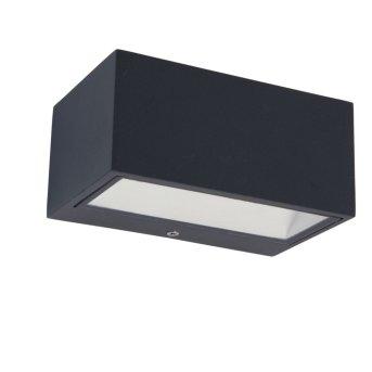 Aplique para exterior Lutec GEMINI LED Antracita, 1 luz