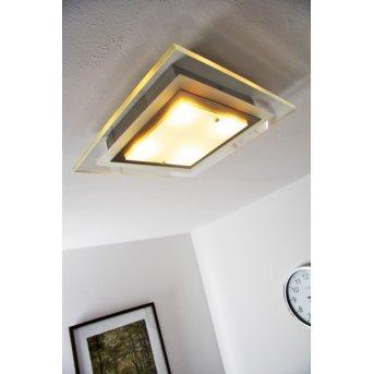 Masterlight Lámpara de techo LED Níquel-mate, 4 luces