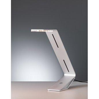 Tecnolumen Flad Lámpara de mesa LED Gris, Plata, 1 luz