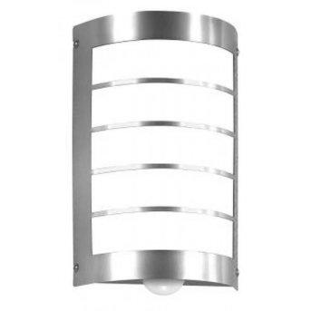Cmd Aqua Marco Aplique Acero inoxidable, 1 luz, Sensor de movimiento