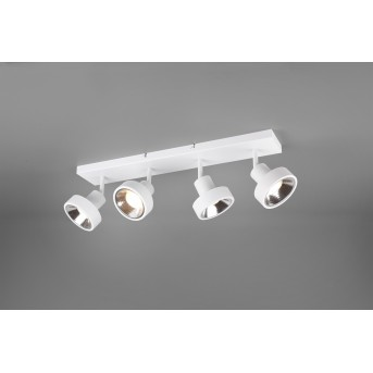 Trio Leon Proyector LED Blanca, 4 luces