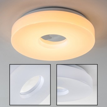 Loris Lámpara de techo LED Blanca, 1 luz
