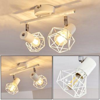 Gullspang Lámpara de Techo Blanca, 2 luces