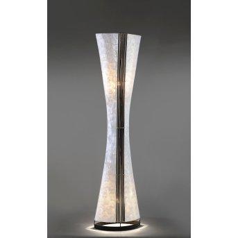 Paul Neuhaus ABUJA Lámpara de Pie Negro, Blanca, 2 luces