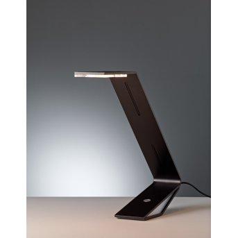 Tecnolumen Flad Lámpara de mesa LED Negro, 1 luz