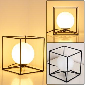 Legano Lámpara de Mesa Negro, 1 luz