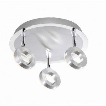 Paul Neuhaus SILEDA Lámpara de techo Aluminio, 3 luces