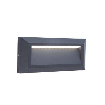 Aplique para exterior Lutec HELENA LED Antracita, 1 luz