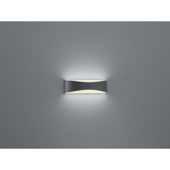 Trio-Leuchten Konda Aplique LED Antracita, 1 luz