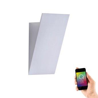 Paul Neuhaus Q-WEDGE Aplique LED Aluminio, 1 luz, Mando a distancia, Cambia de color