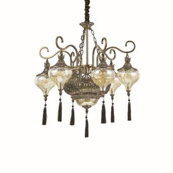 Ideal Lux HAREM Lámpara Colgante Pulido, 9 luces