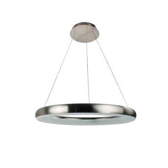 WOFI CLINT Lámpara Colgante LED Níquel-mate, 1 luz, Mando a distancia