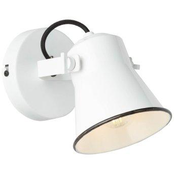 Brilliant Croft Foco de pared Blanca, 1 luz