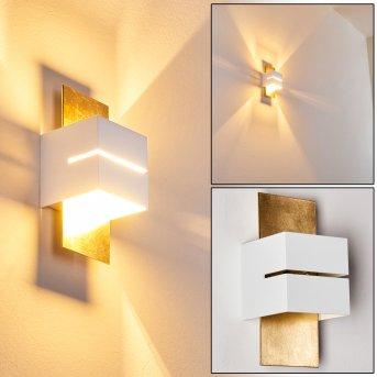 Tora Aplique dorado, 1 luz
