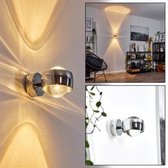 Hofstein Sapri Aplique Cromo, 1 luz