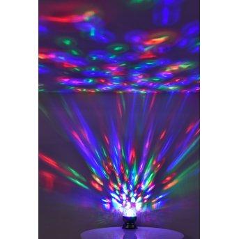 Leuchten Direkt DISCO Lámpara de Mesa LED Negro, 1 luz, Cambia de color