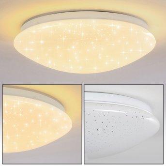 Norton Star Lámpara de Techo LED Blanca, 1 luz