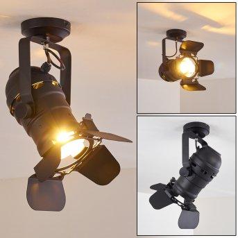 Lichinga Lámpara de Techo Negro, 1 luz