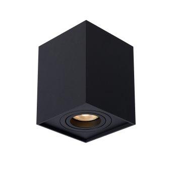 Lucide TUBE Lámpara de Techo Negro, 1 luz