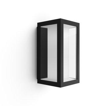 Philips Hue Ambiance White & Color Impress Aplique LED Negro, 1 luz, Cambia de color