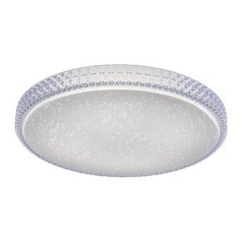 Leuchten Direkt Ls-FRIDA Lámpara de Techo LED Transparente, claro, 1 luz, Mando a distancia, Cambia de color
