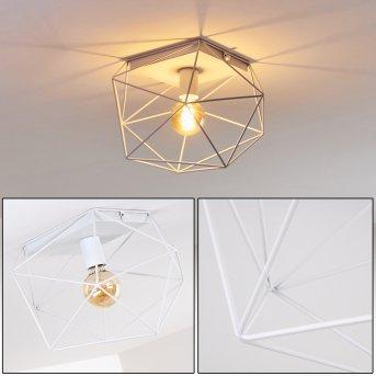 Babol Lámpara de Techo Blanca, 1 luz