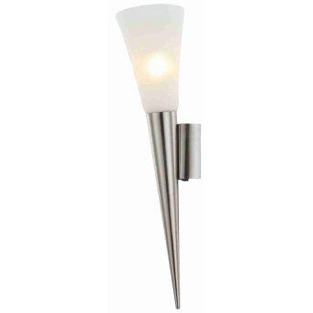 Nino Leuchten RADUZ Aplique LED Níquel-mate, 1 luz